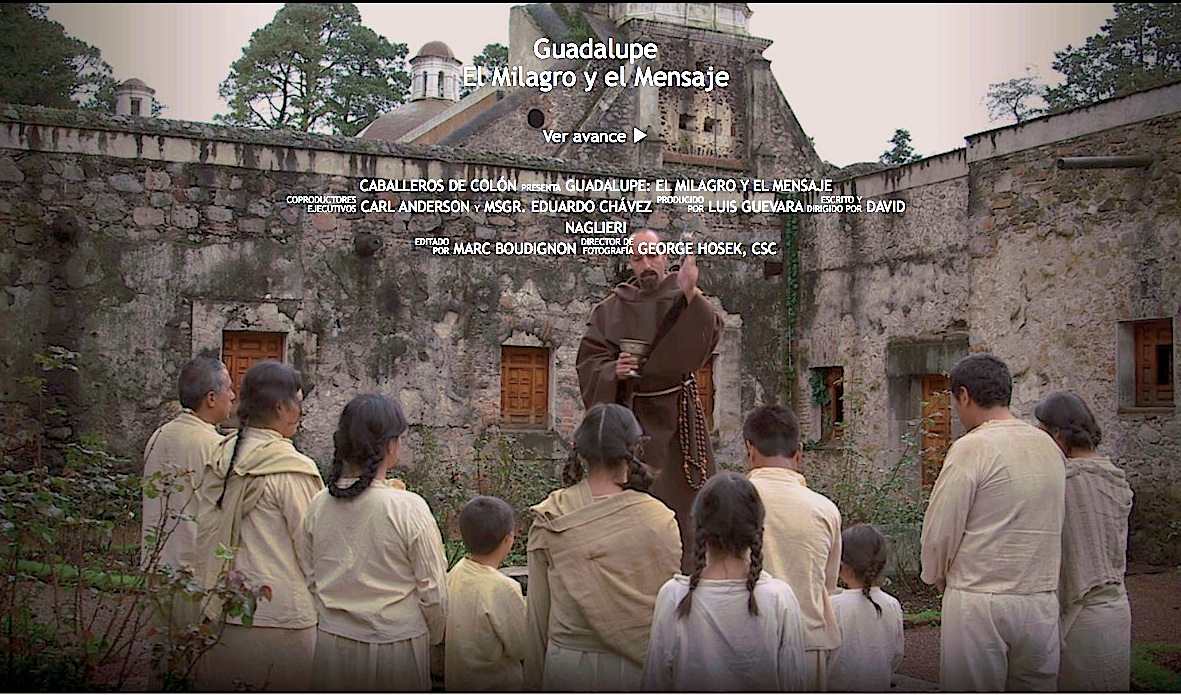 Website of Guadalupe The Film