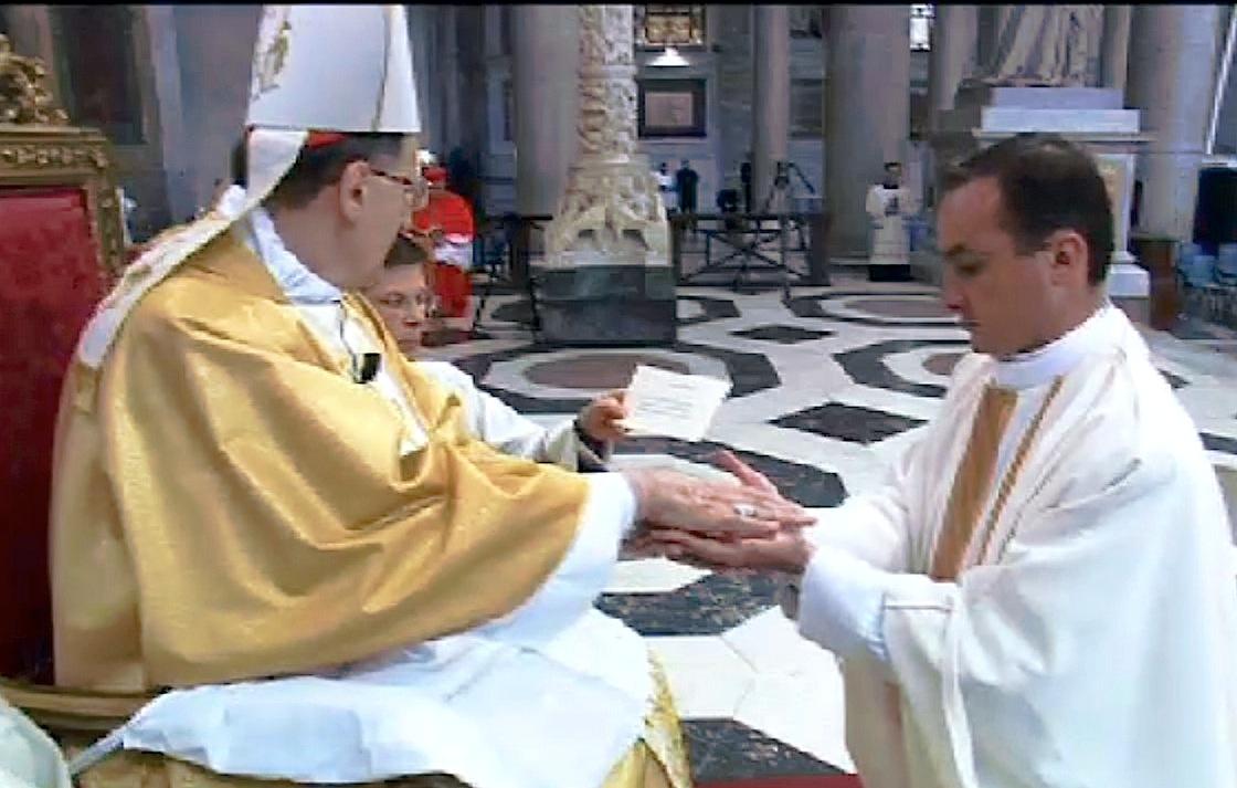 Ordination of priest of Legionari of Christi