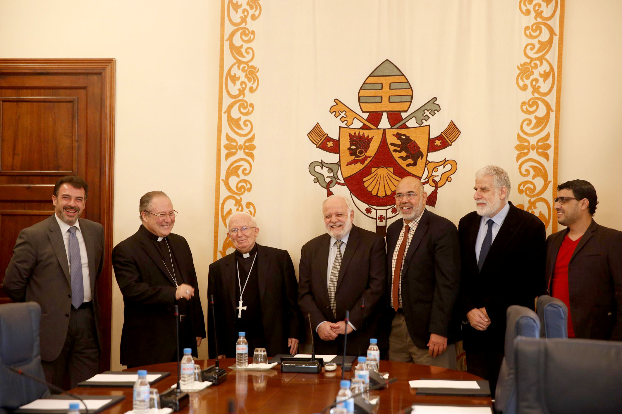 Cardinal Cañizares meets with President of the Islamic Commission