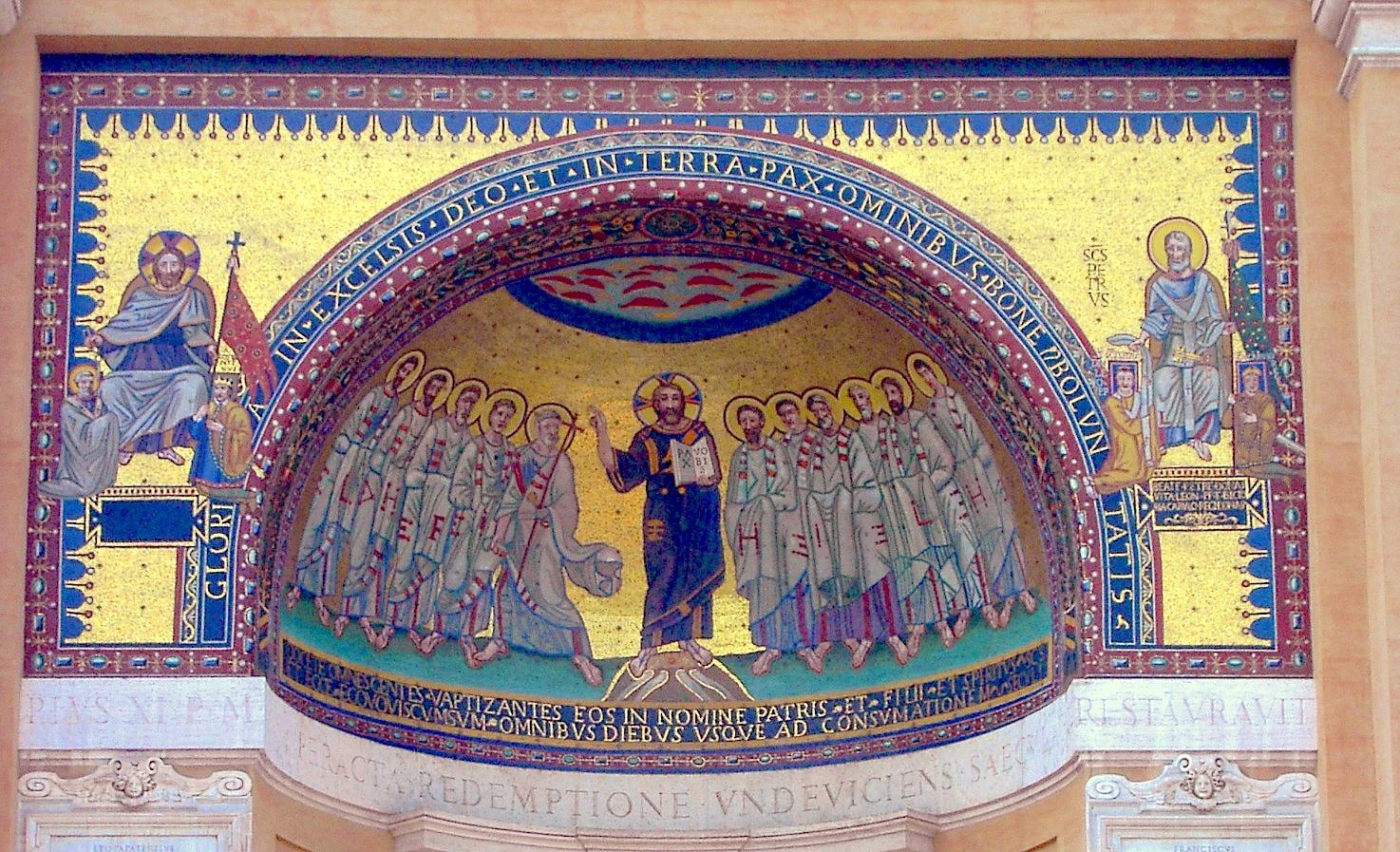 San Giovanni in Laterano mosaico del ápside