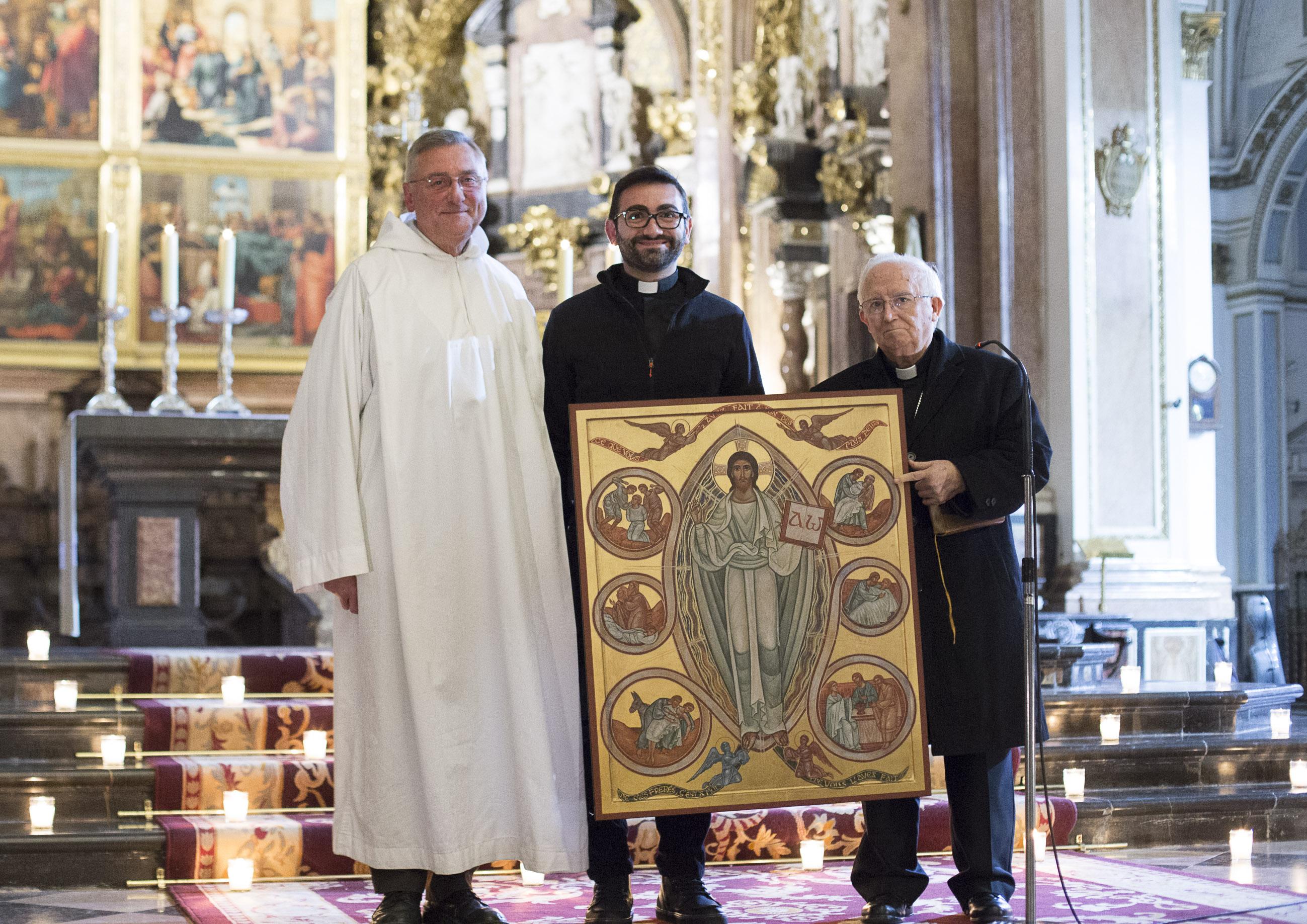 Taizé cede a Valencia su icono de la Misericordia