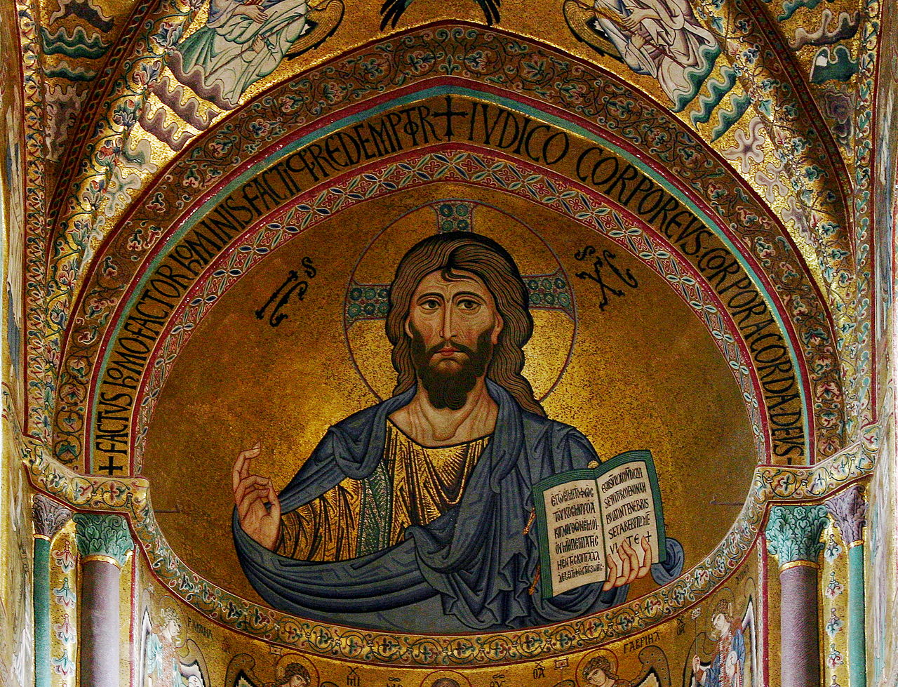 Christ Pantocrator in the Cathedral of Cefalù