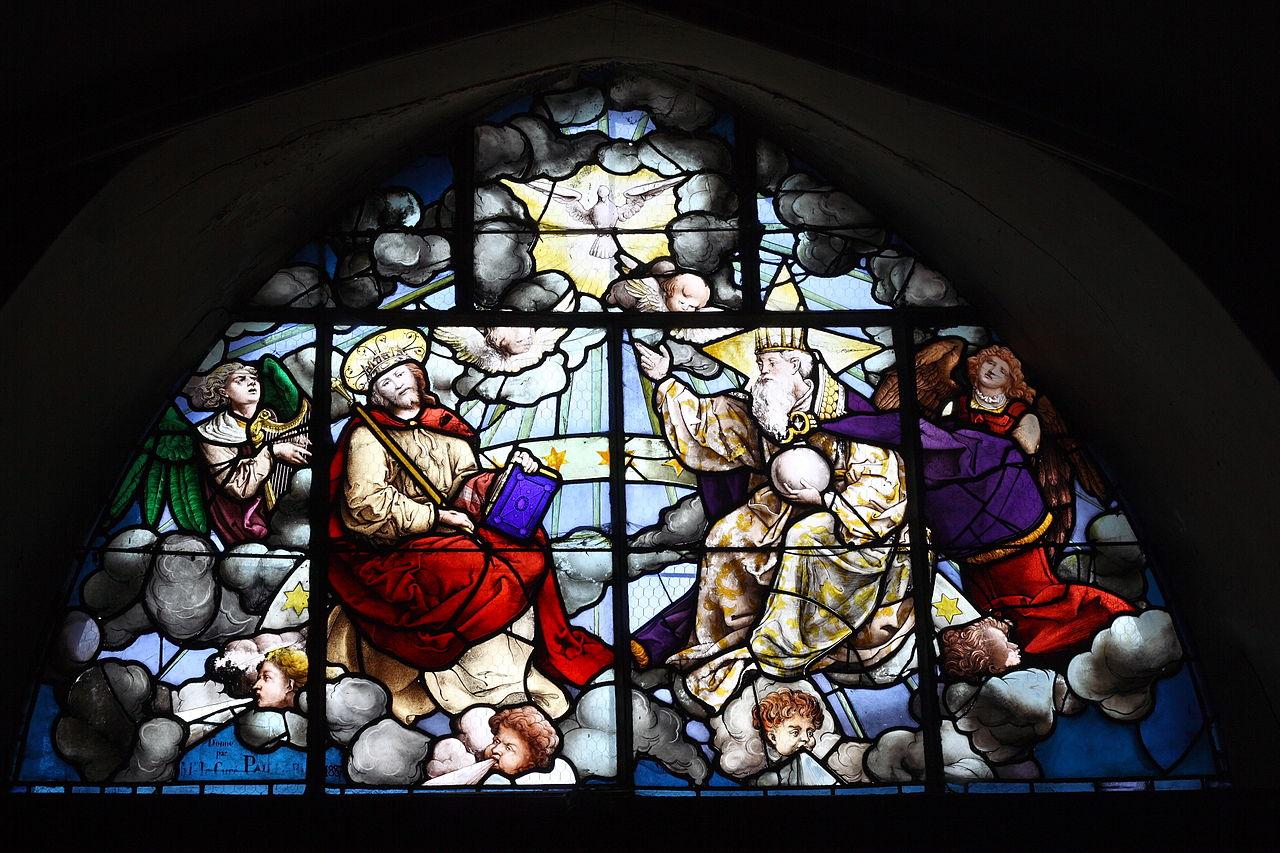 Vitral de la Santísima Trinidad