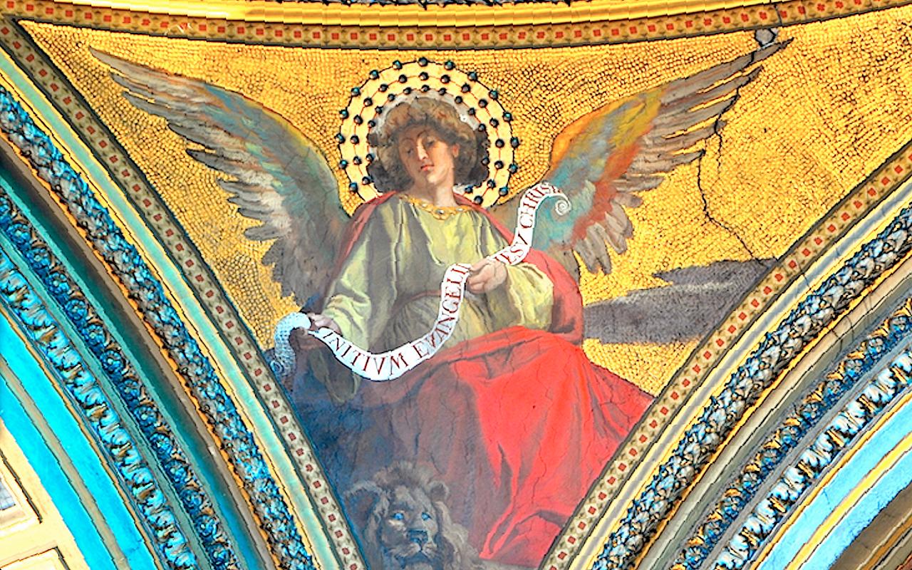 Angels. Church