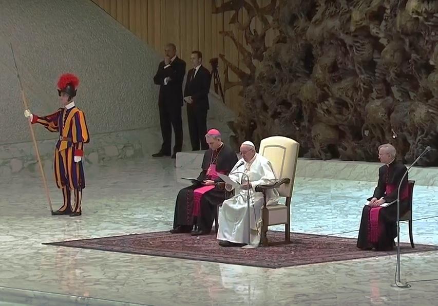Audiencia del papa Francisco CTV