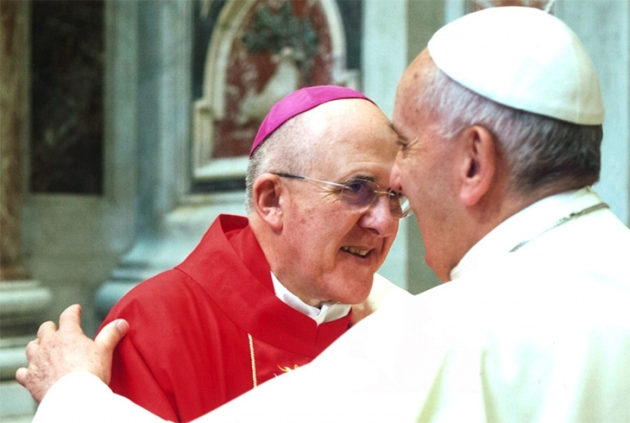 Mons. Carlos Osoro con el papa Francisco (Foto Archidiócesis de Madrid cc)