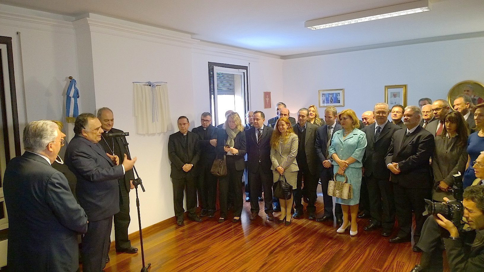 Inauguration of Embassy Argentinian before Holy See