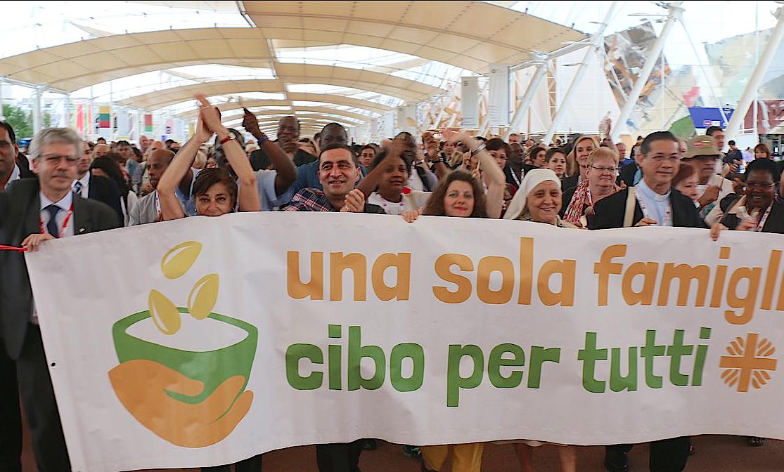 Caritas Day at Expo Milan 2015