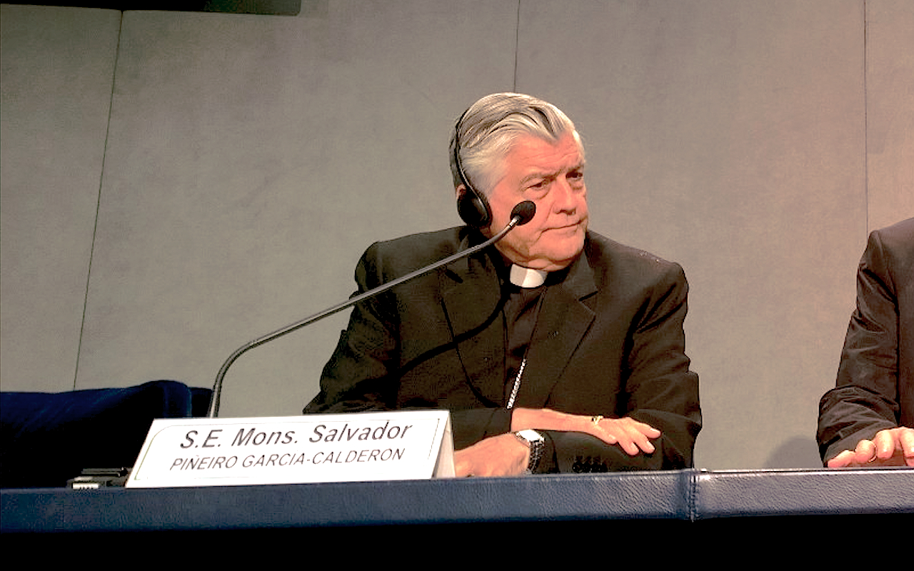 Mons. Salvador Piñeiro Calderón - 7 Sept. 2015