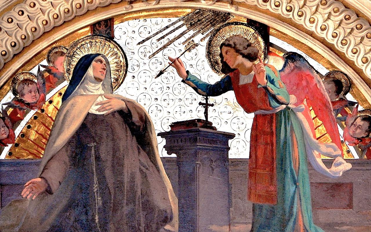 Saint Teresa of Jesus - At roman church of