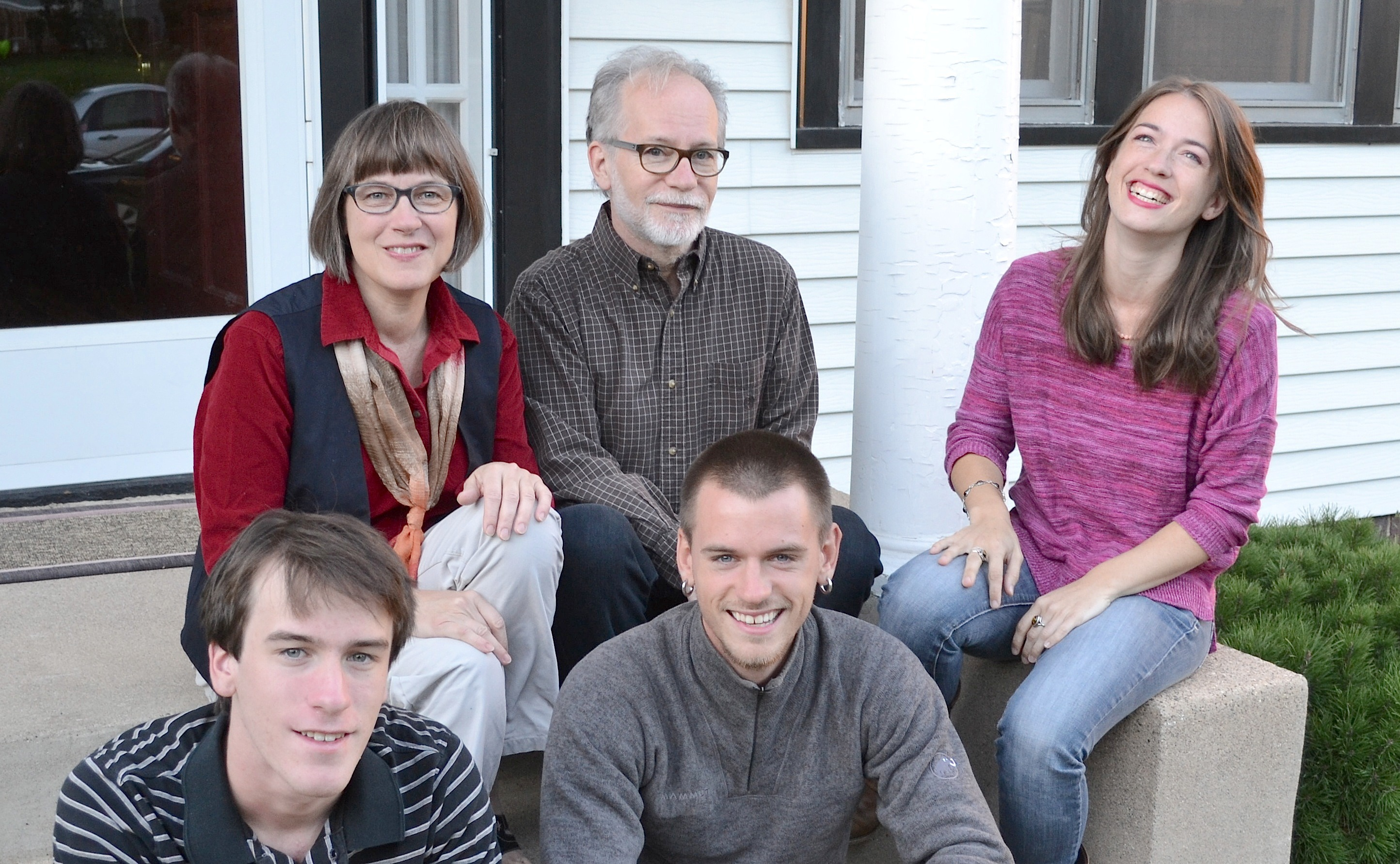 John Thavis and his family. He is a journalist