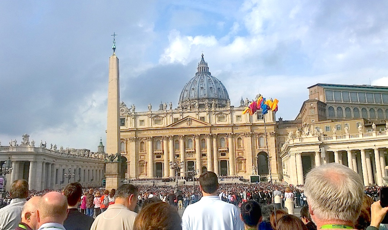 Audience in the Vatican - S. Peter square - 14 October 2015