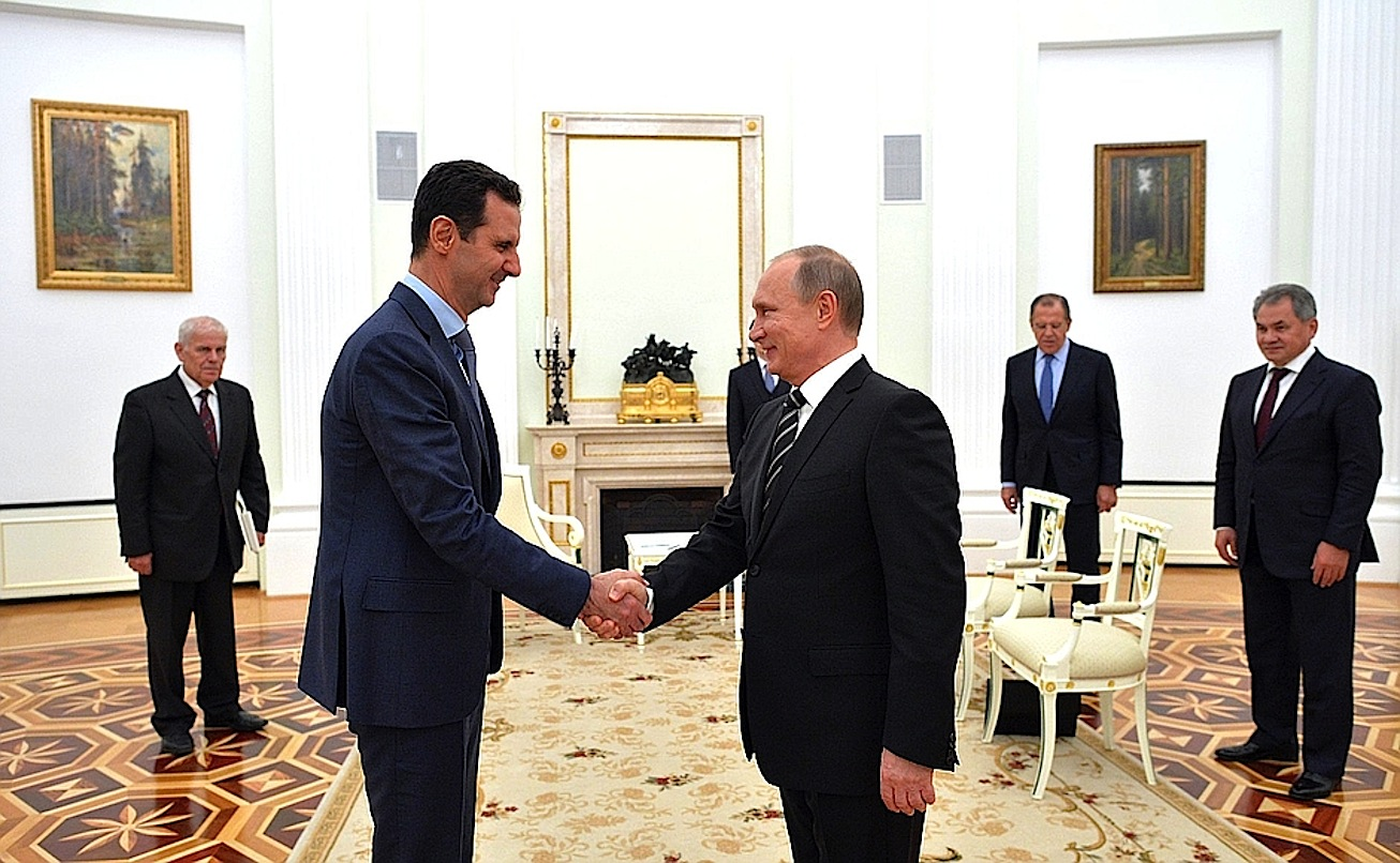 Meeting with President of Syria Bashar Assad