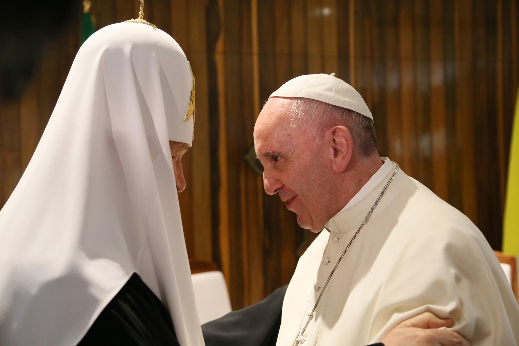 Encuentro de Su Santidad Kirill con el Papa Francisco, Sumo Pontífice de la Iglesia Católica_12/02/2016.