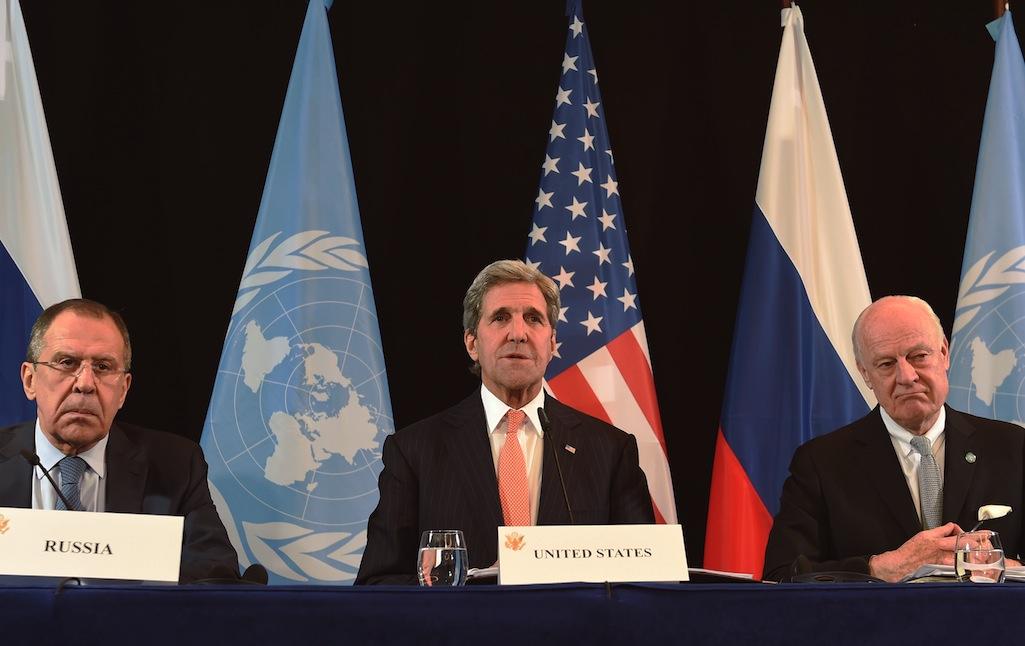 Conversaciones en Munich sobre Siria