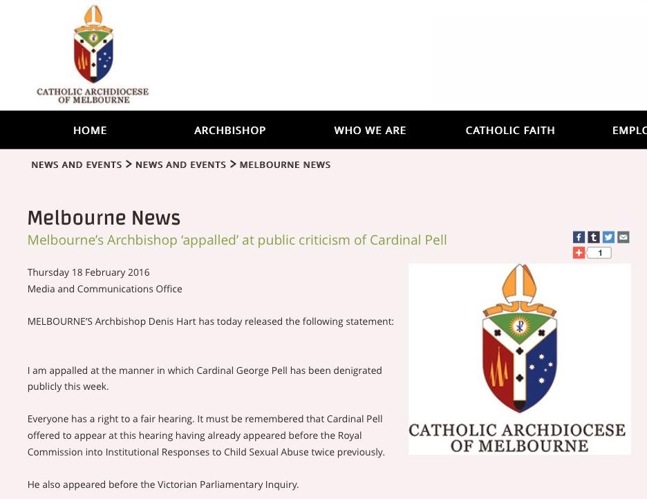Boletín informativo de la diócesis de Melbourne