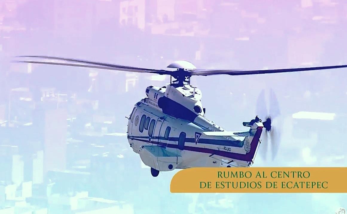 El Papa hacia Ecatepec -