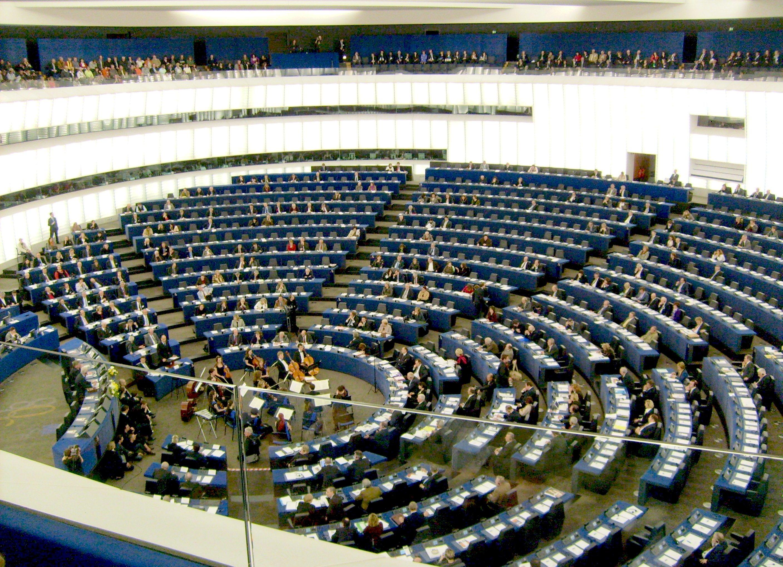 Hemiciclo del Parlamento Europeo (Wikicommons)