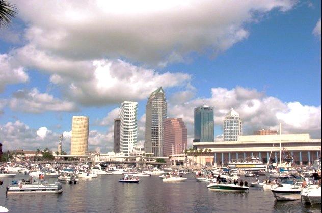 La ciudad de Tampa