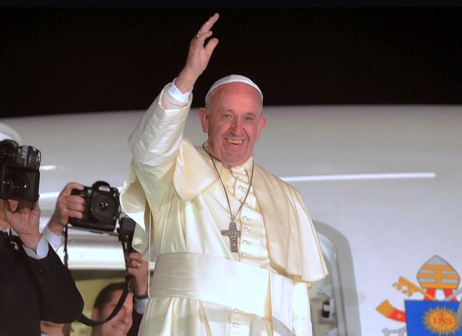 El Papa se despide de México