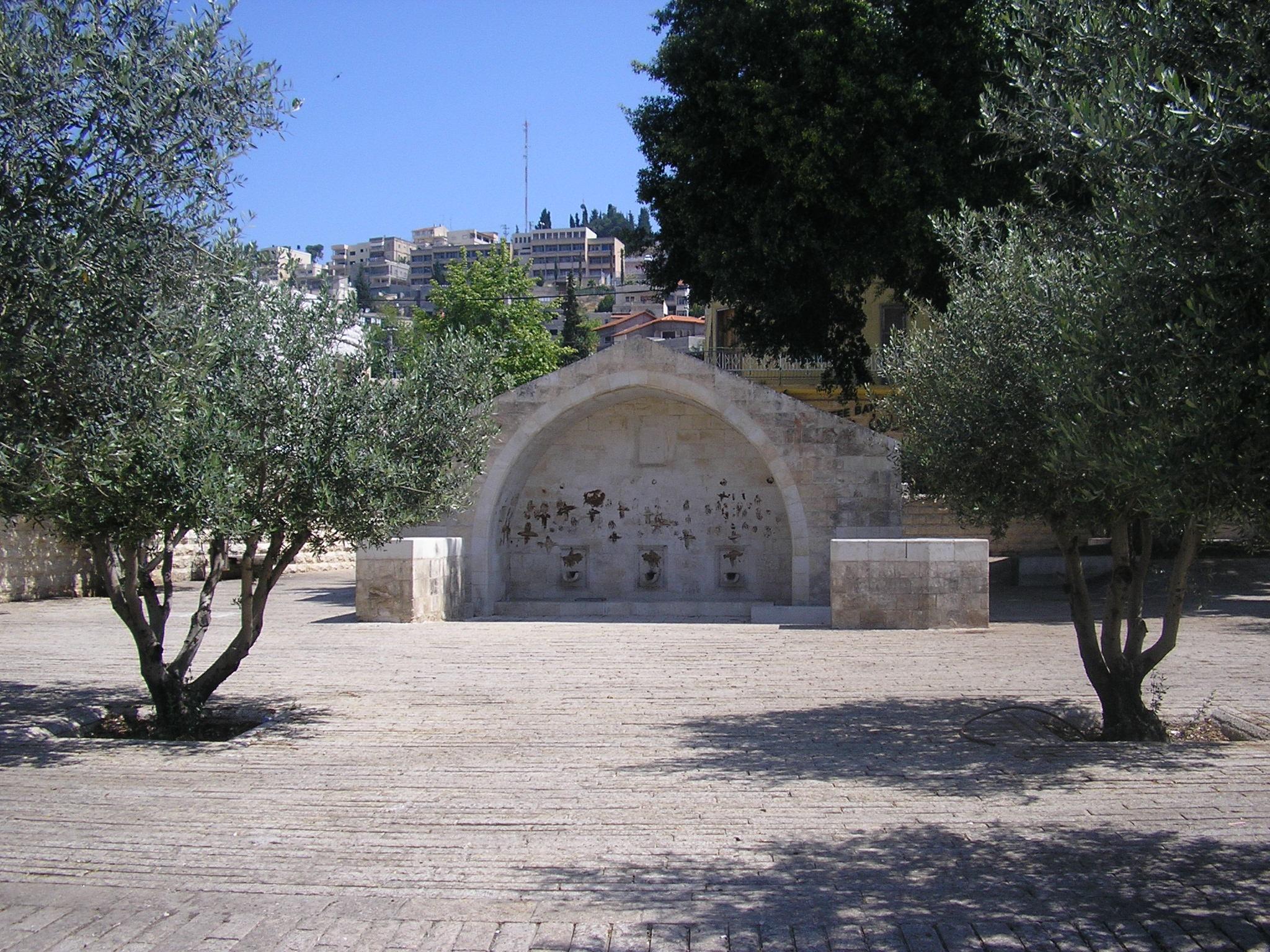 Fontana de la Virgen en Nazaret