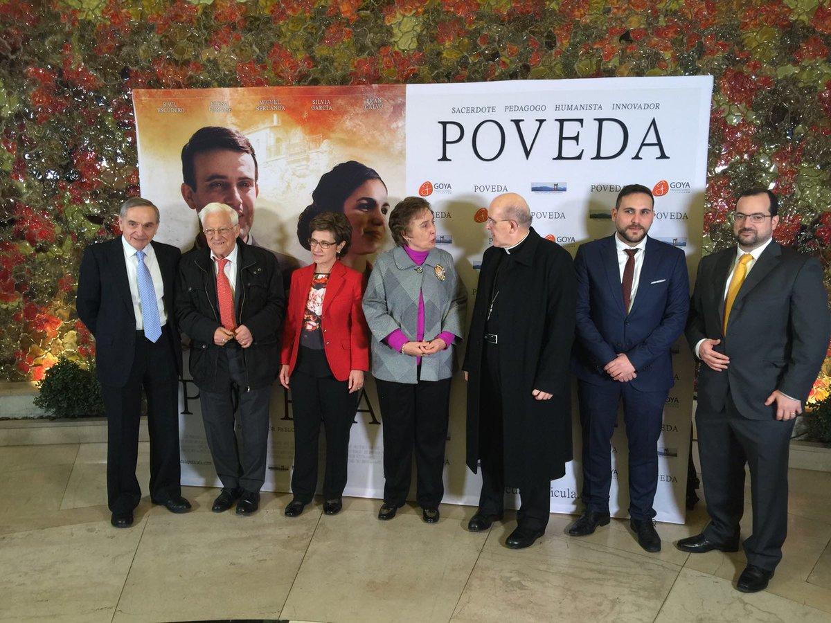 Presentación de la película 'Poveda'