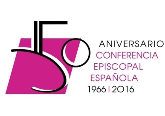 Logo conmemorativo del 50 aniversario de la CEE