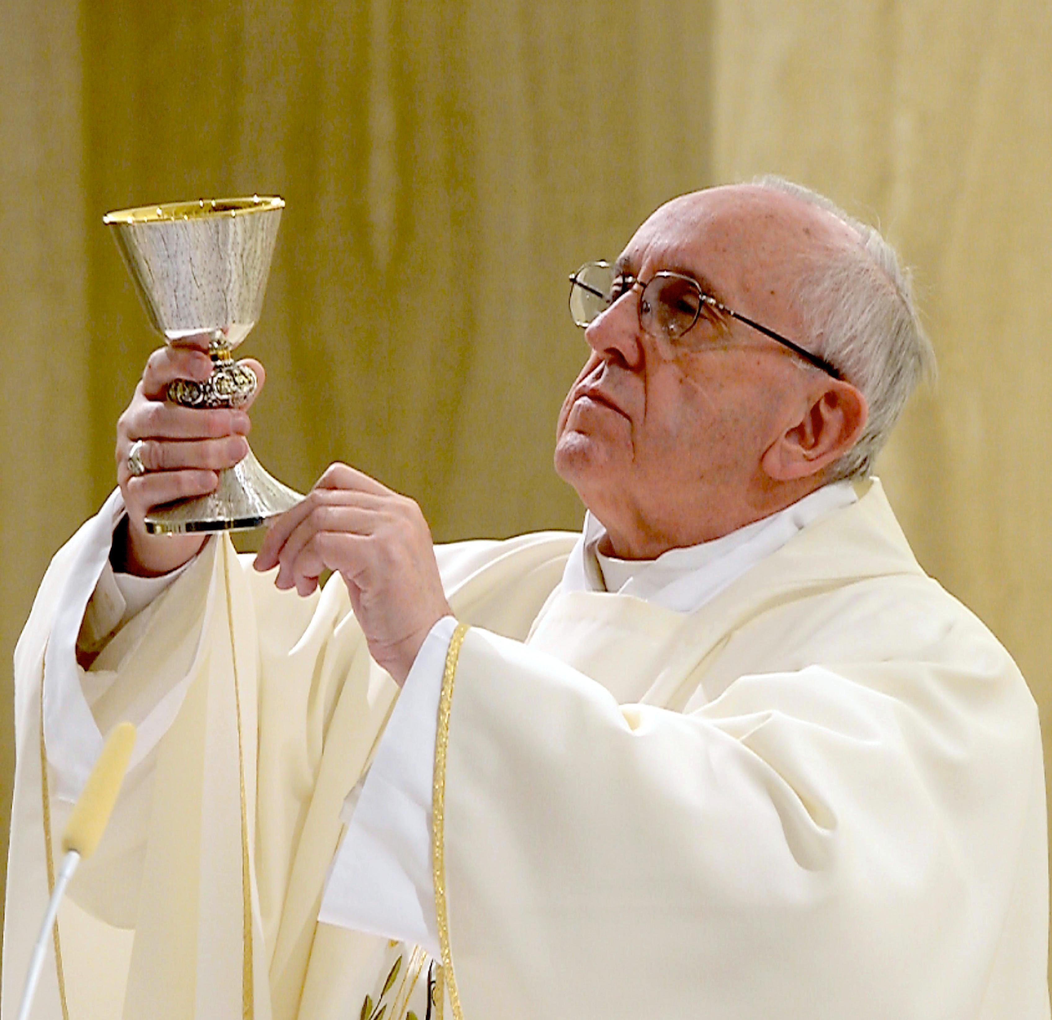 Il papa Francesco in Santa Marta 01-02-2016