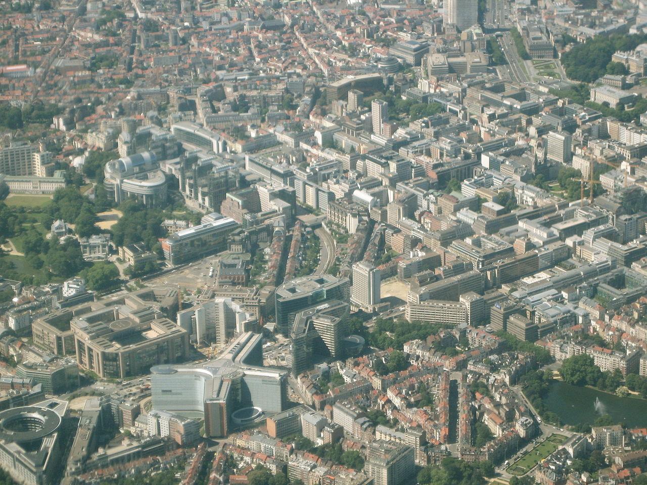 El barrio europeo de Bruselas