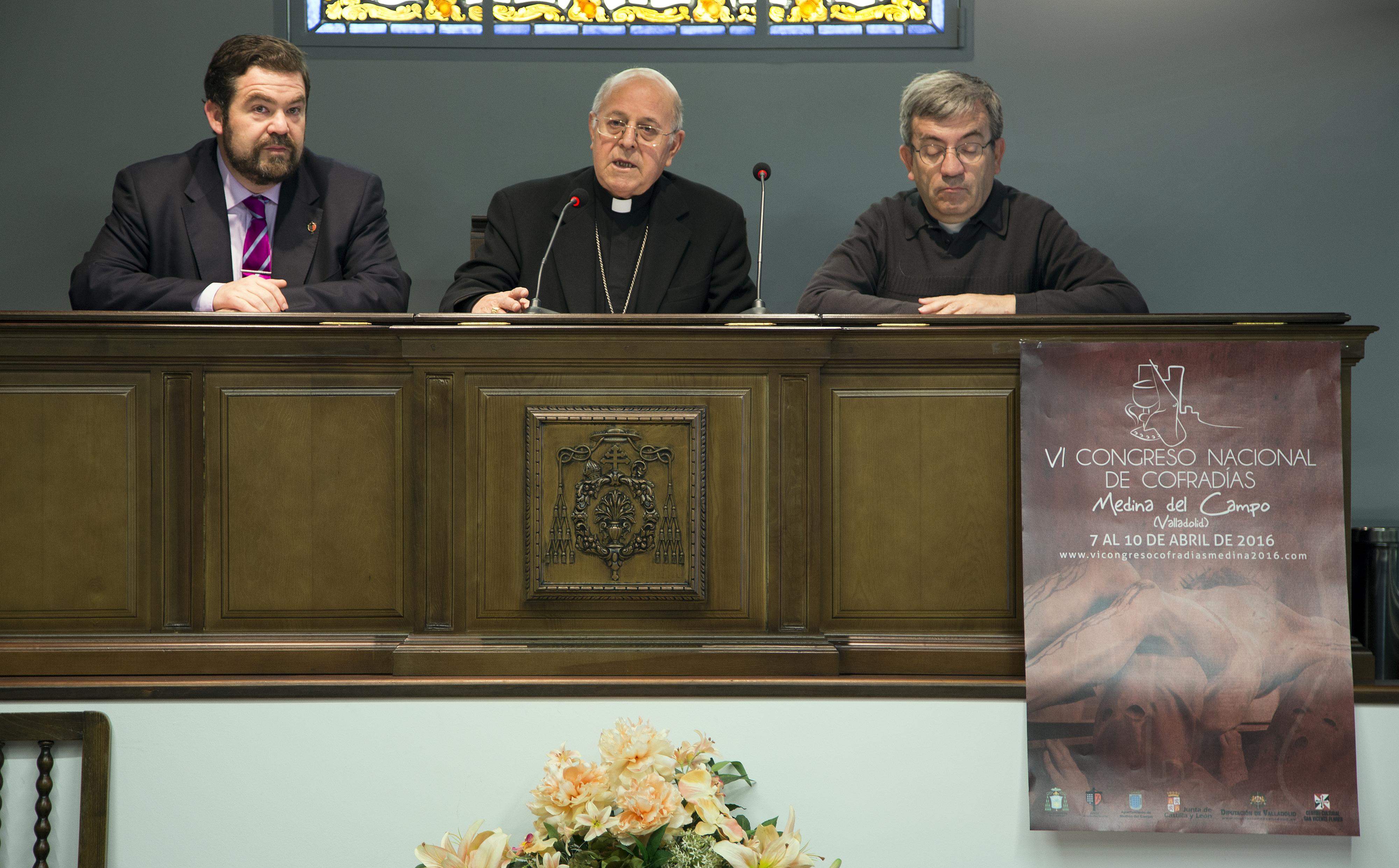 Presentación del VI Congreso en el Arzobispado de Valladolid