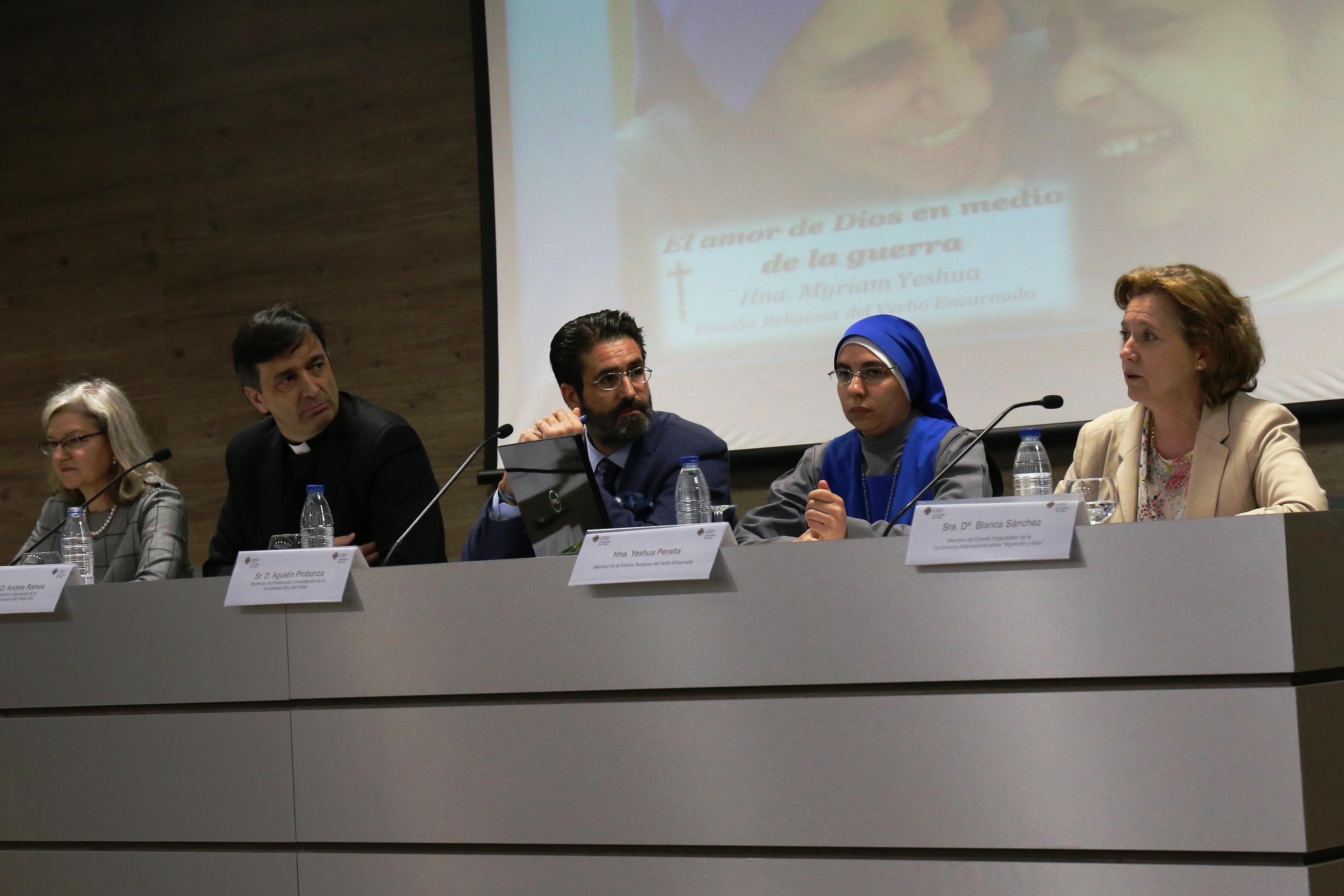 Presentación de la Conferencia Internacional 'Migración y Asilo: Nuevos retos y oportunidades'