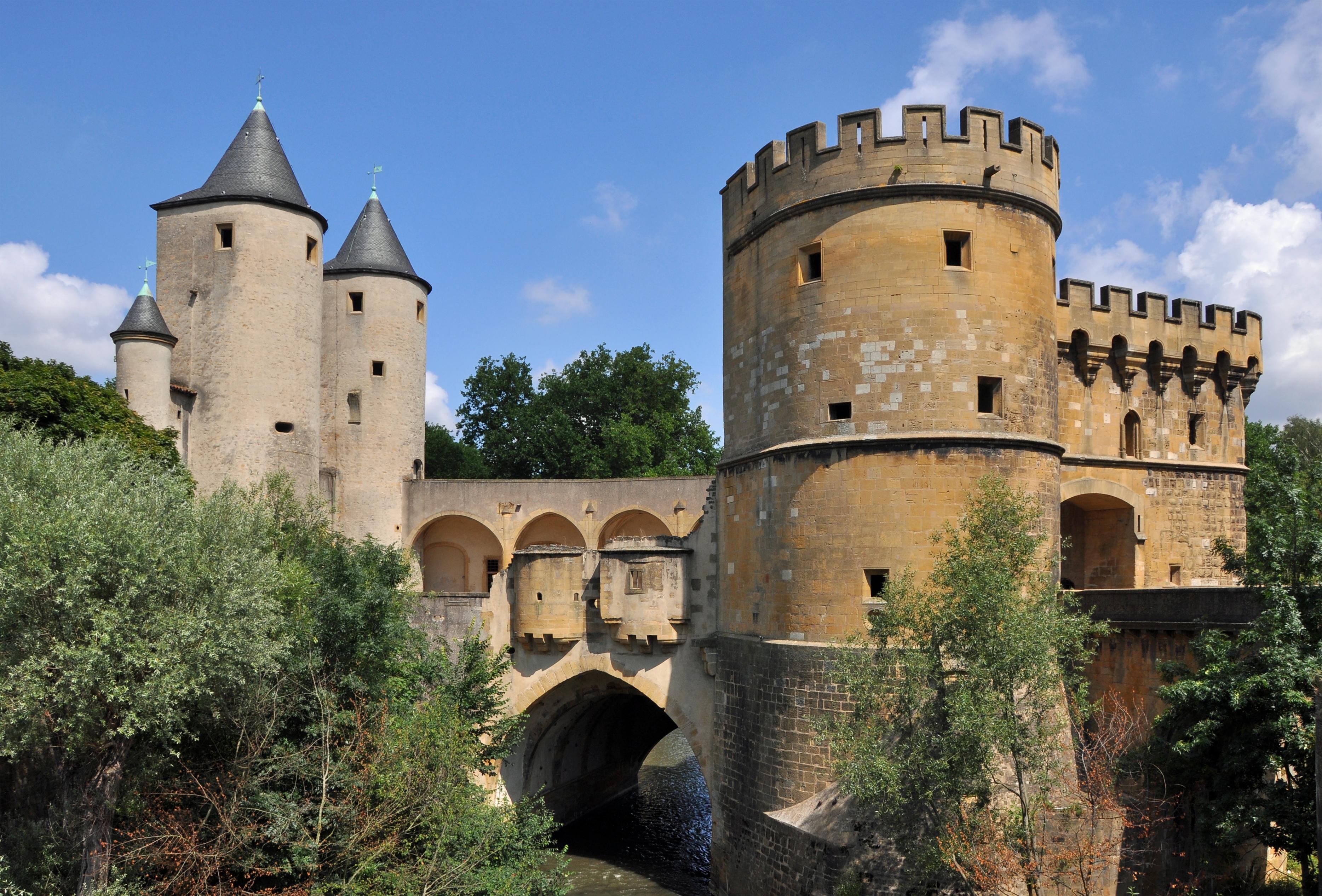 Porte des Allemands en la ciudad francesa de Metz