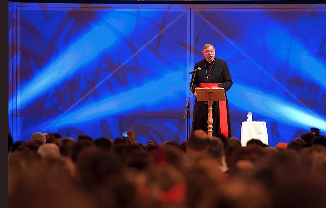 El cardenal Pell en la JMJ de Madrid