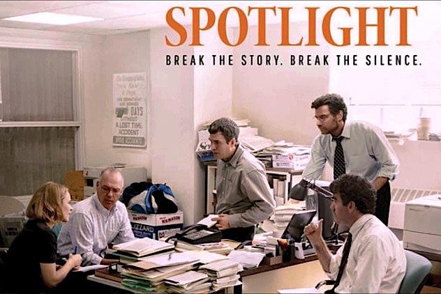Publicidad de la película Spotlight
