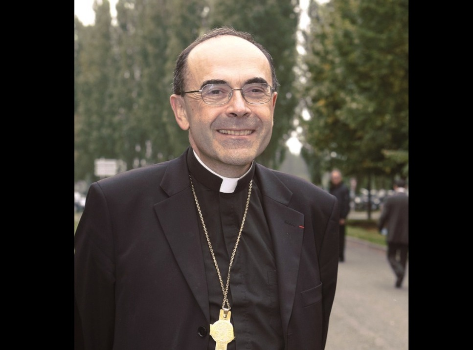 El cardenal Philippe Barbarin