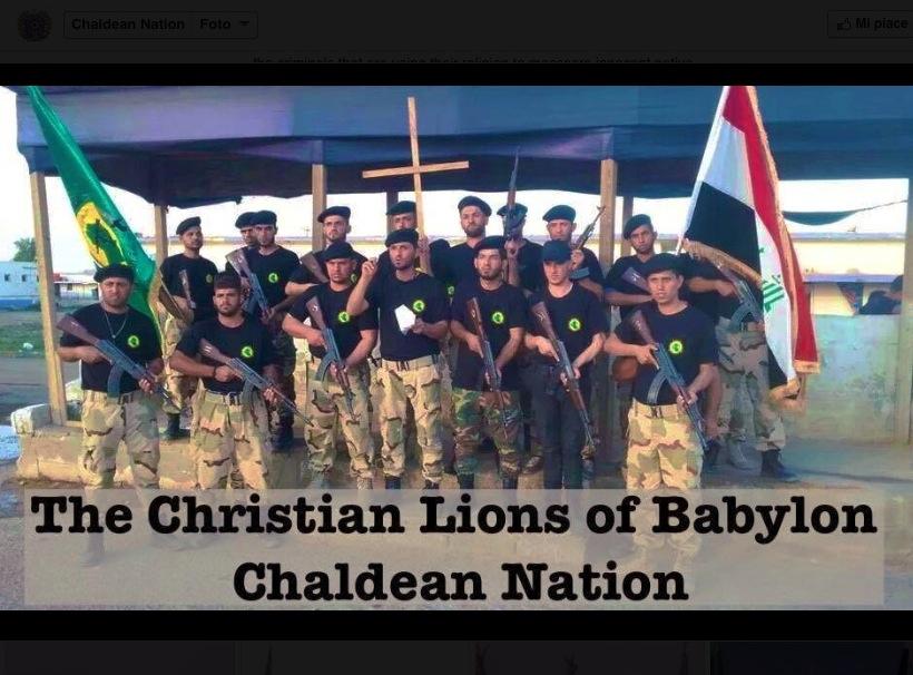 La Iglesia es contrara a las milicias cristianas