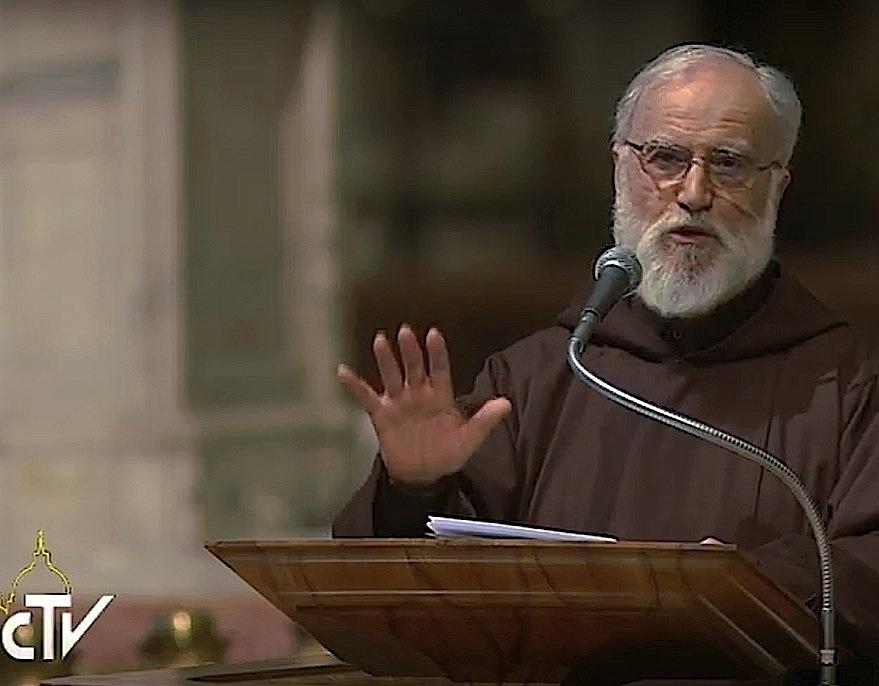 El predicador capuchino, Raniero Cantalamessa