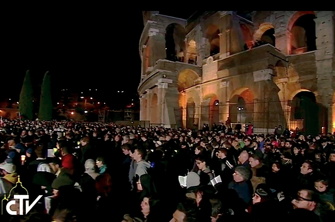 El Coliseo en el Vía Crucis