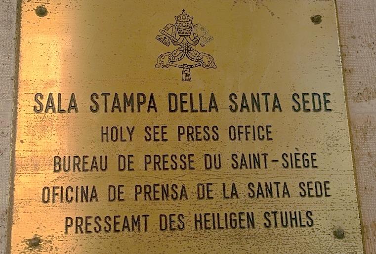 Sala de prensa de la Santa Sede