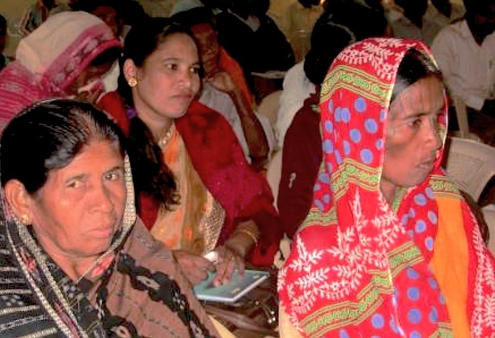 Sobrevivientes de Orissa (Foto Fides)