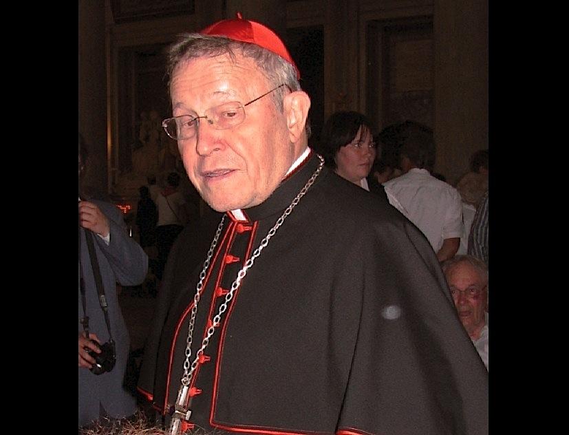 El cardenal Walter Kasper