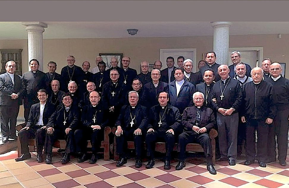 Los obispos de Ecuador (Facebook CEE)