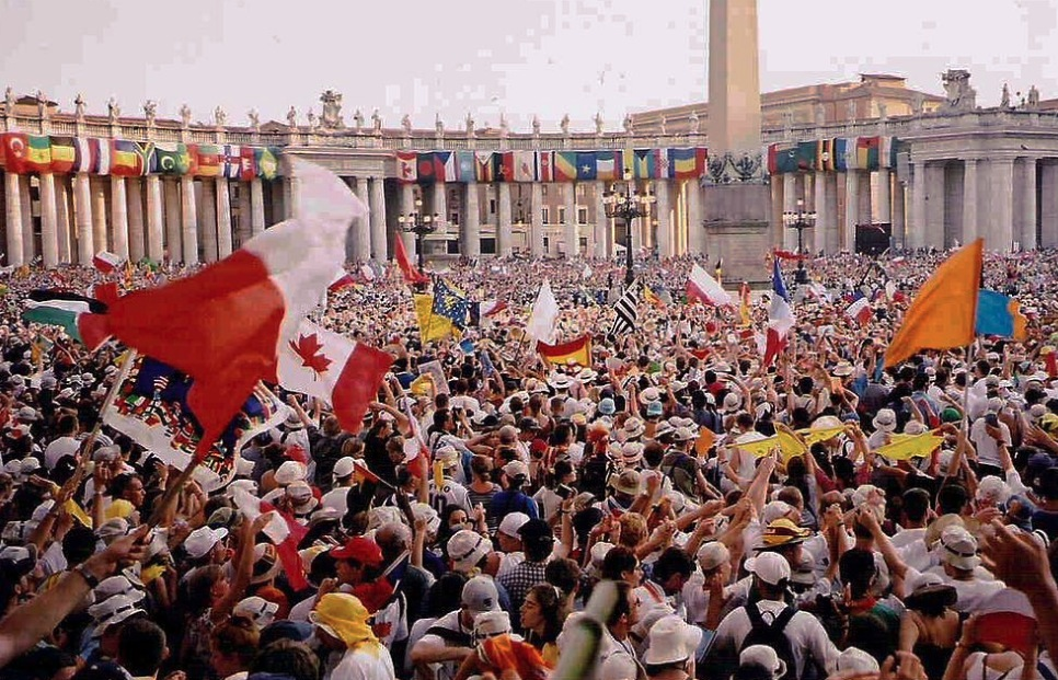 Jornada Mundial de la Juventud (JMJ) del 2000 en Roma (Wiki commons)