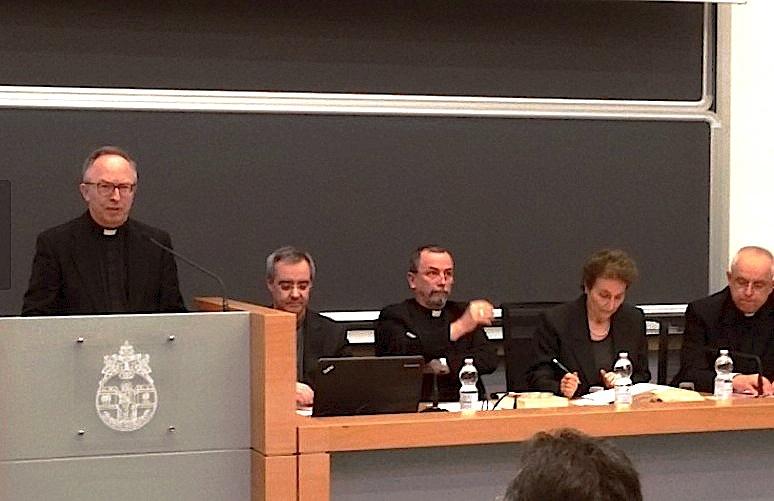 Presentación del libro en la Universidad Gregoriana (foto ZENIT FC cc)