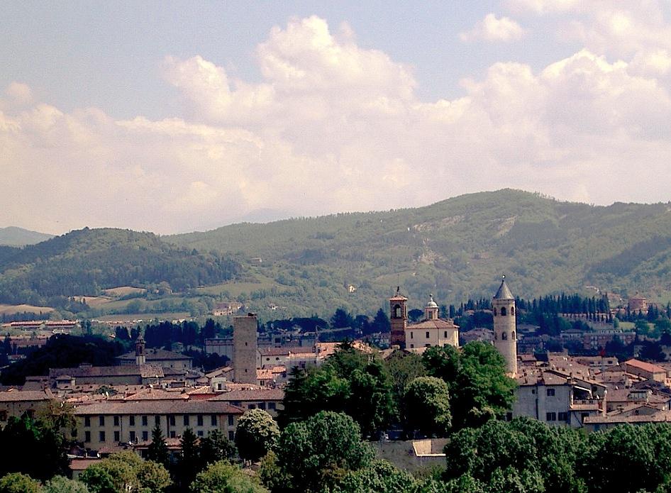 Citta' di Castello, tierra natal de la beata Margherita