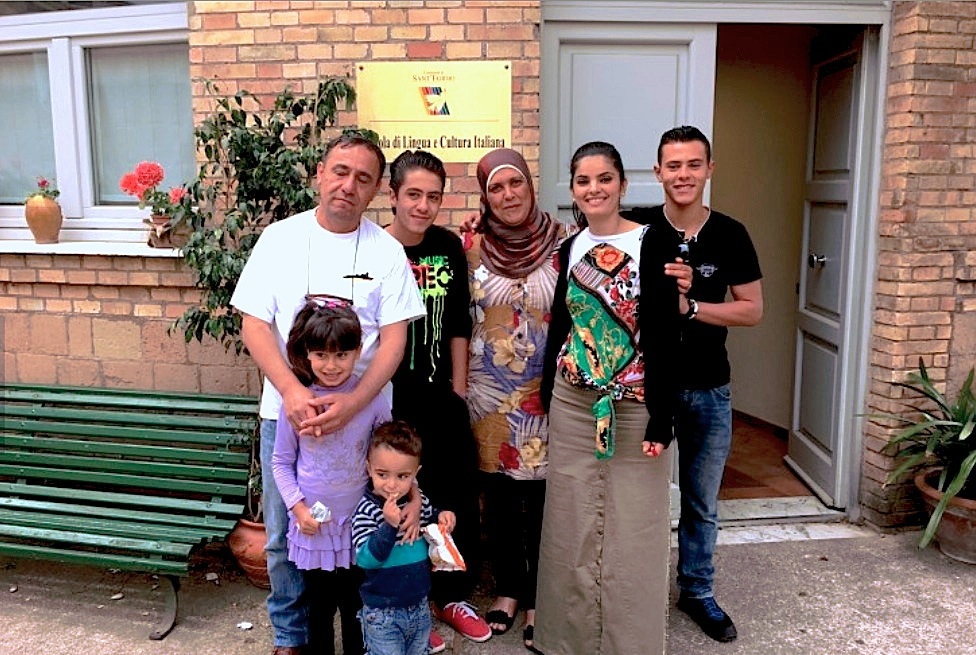 Los refugiados sirios que vinieron a Italia con el Papa (Foto ZENIT SC - cc)