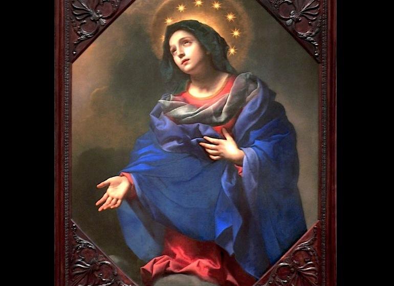 Cuadro de la Virgen María
