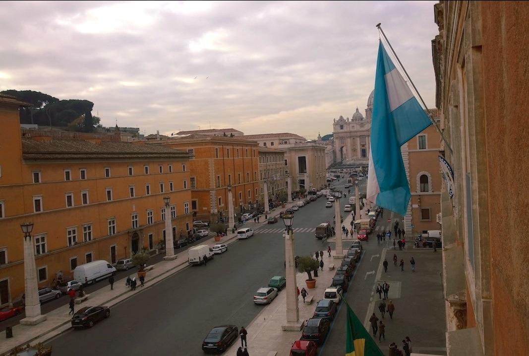 El Vaticano visto desde la Embajada Argentina ante la Santa Sede (Foto ZENIT cc)