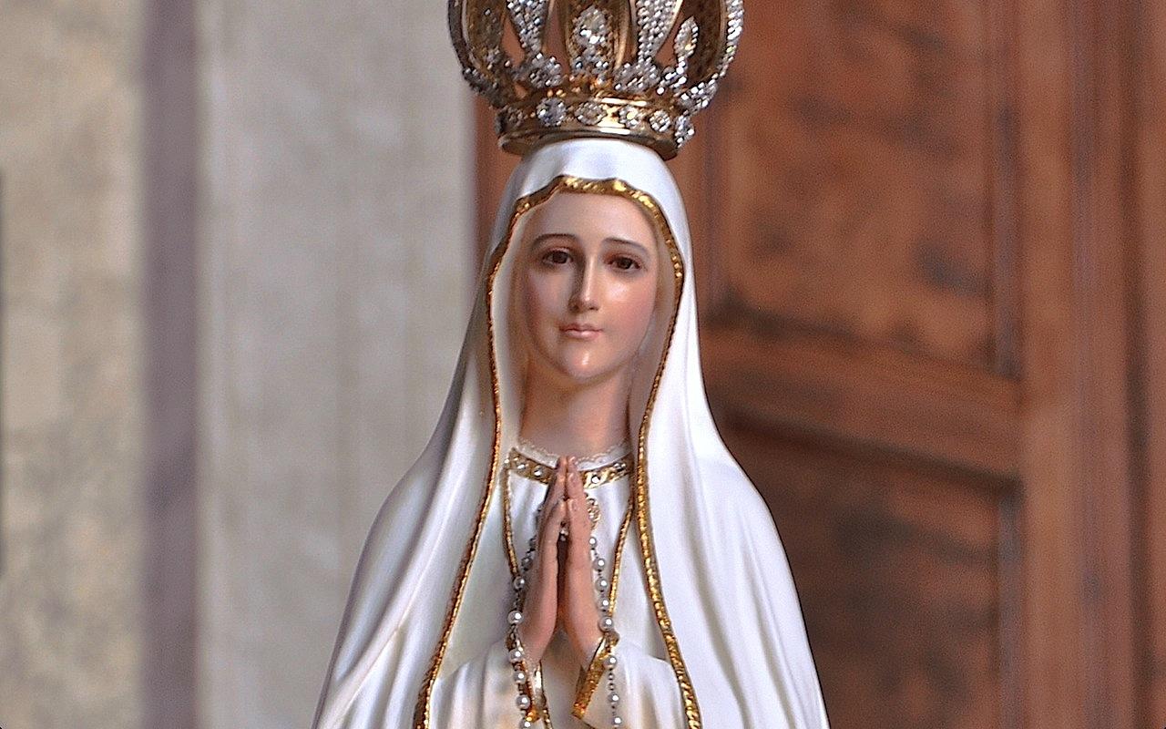 Imagen peregrina de Fatima en la basílica de San Juan de Letrán - ZENIT cc