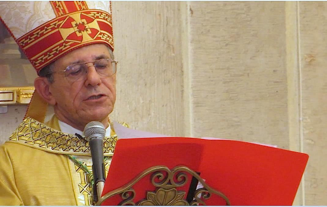 Mons. Juan Garcia en la catedral de La Habana